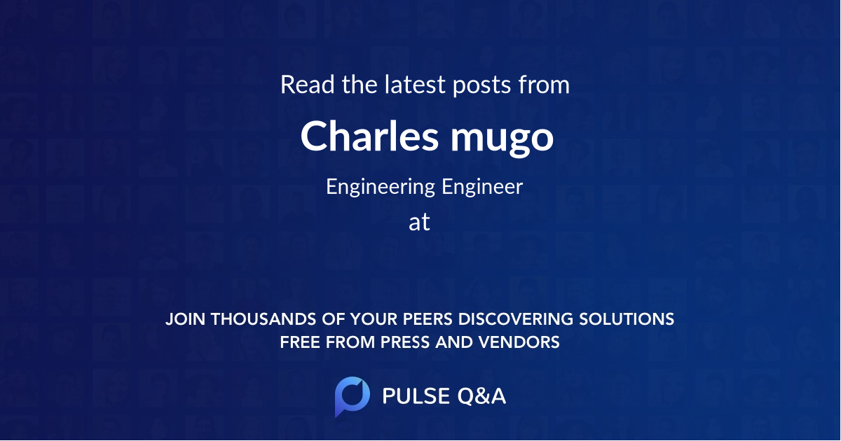 Charles mugo