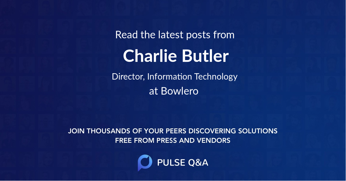 Charlie Butler