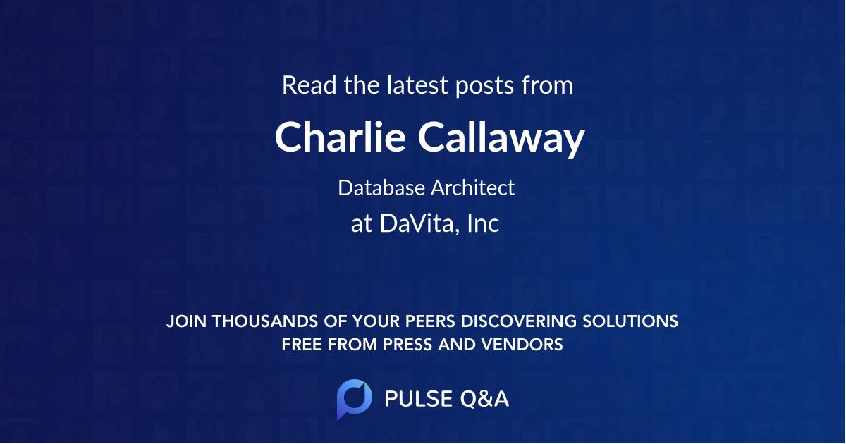 Charlie Callaway