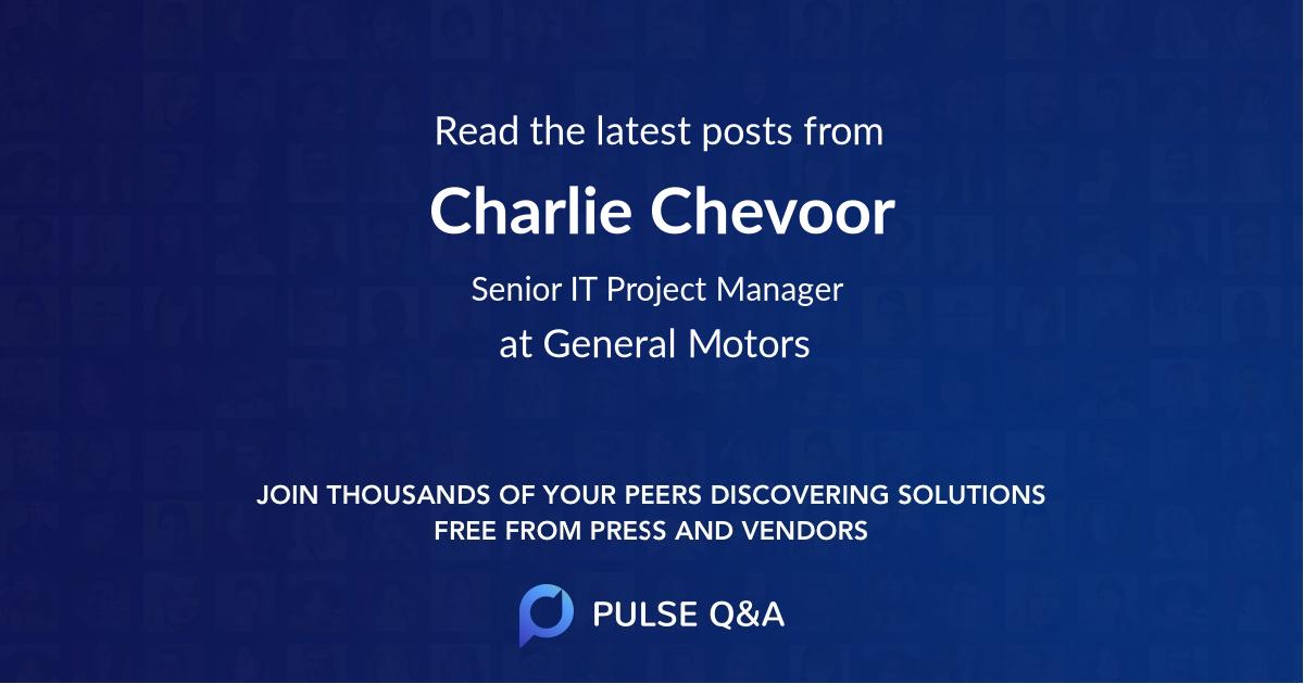 Charlie Chevoor