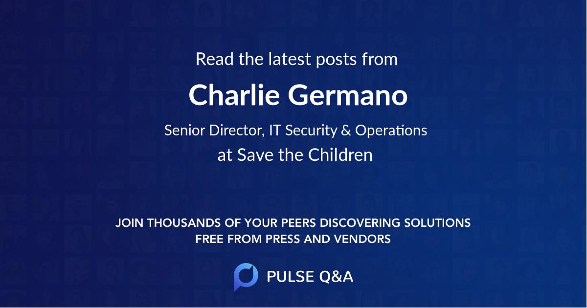 Charlie Germano