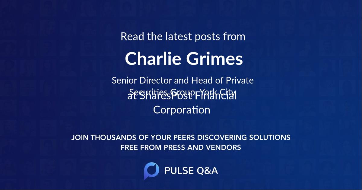 Charlie Grimes
