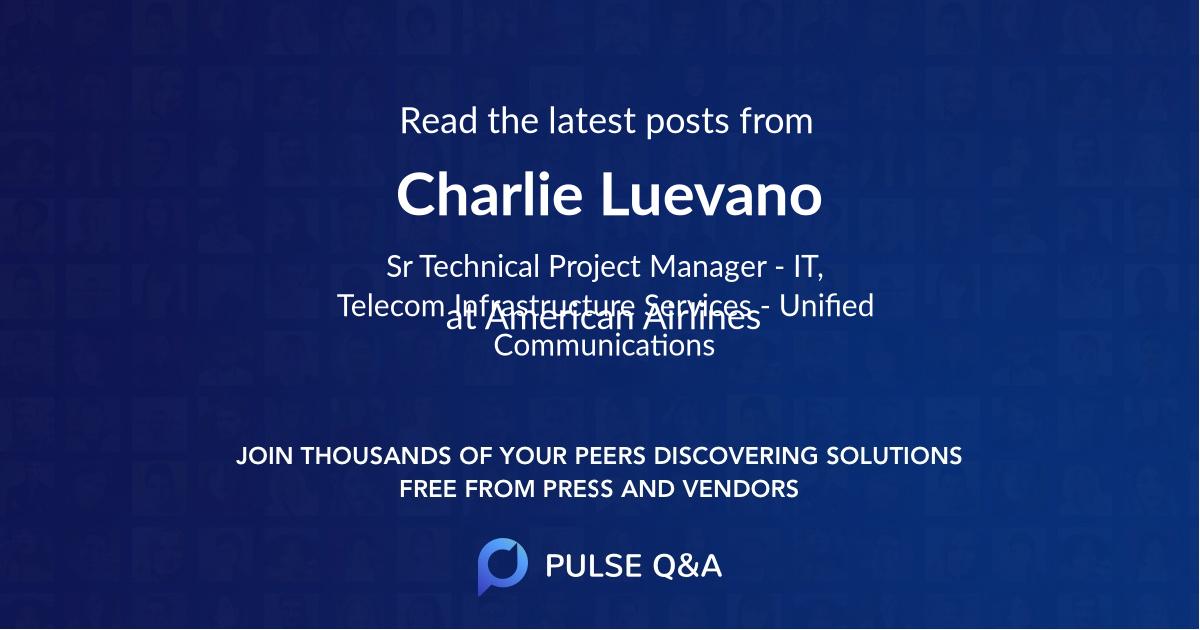 Charlie Luevano