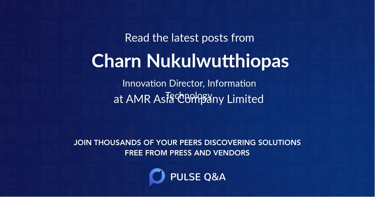 Charn Nukulwutthiopas