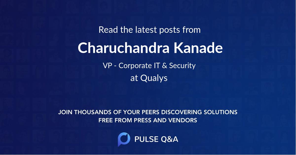 Charuchandra Kanade