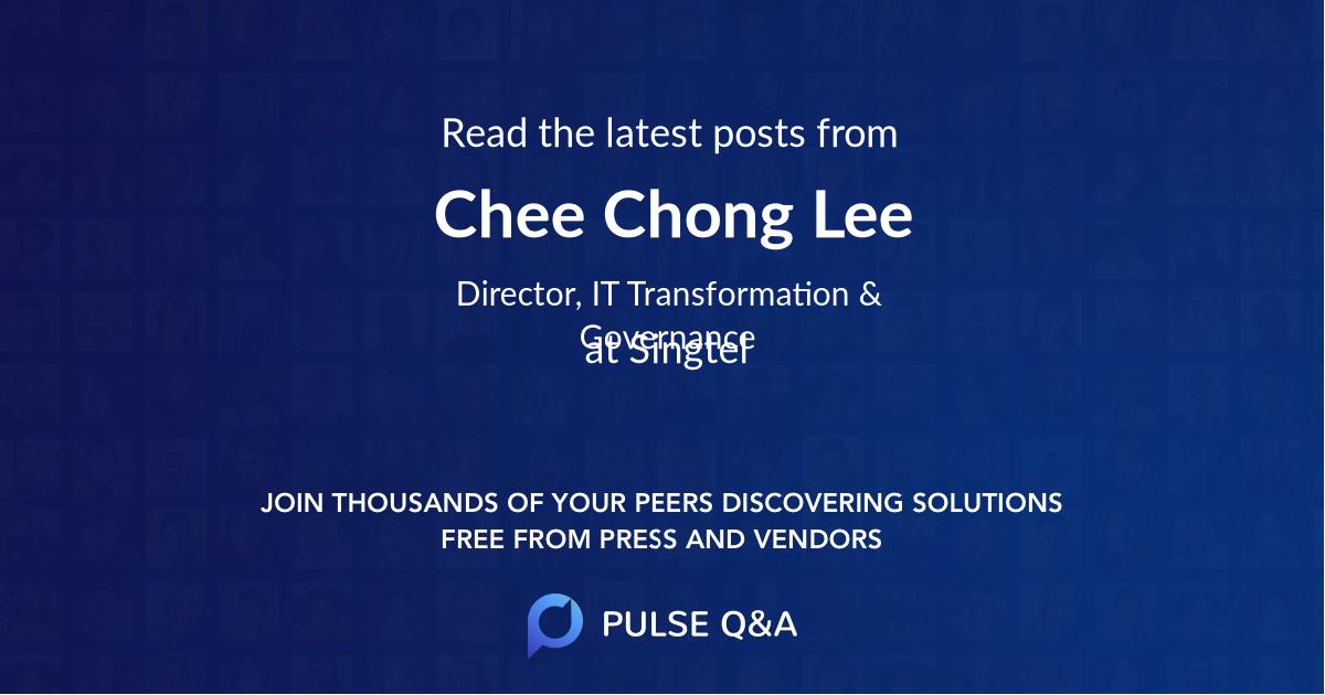 Chee Chong Lee