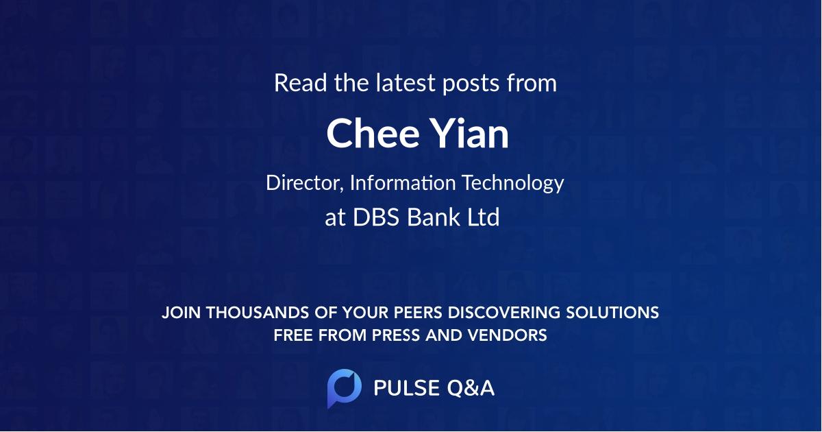 Chee Yian