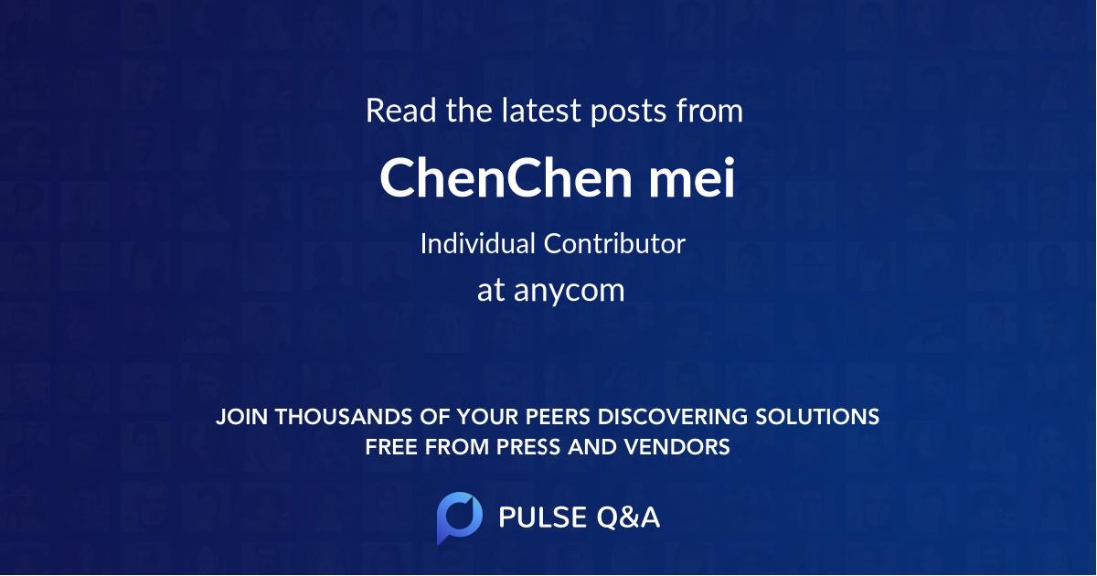 ChenChen mei