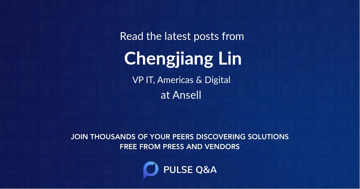 Chengjiang Lin