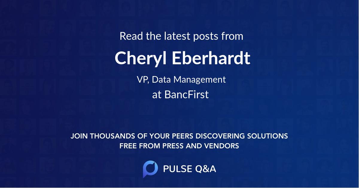 Cheryl Eberhardt