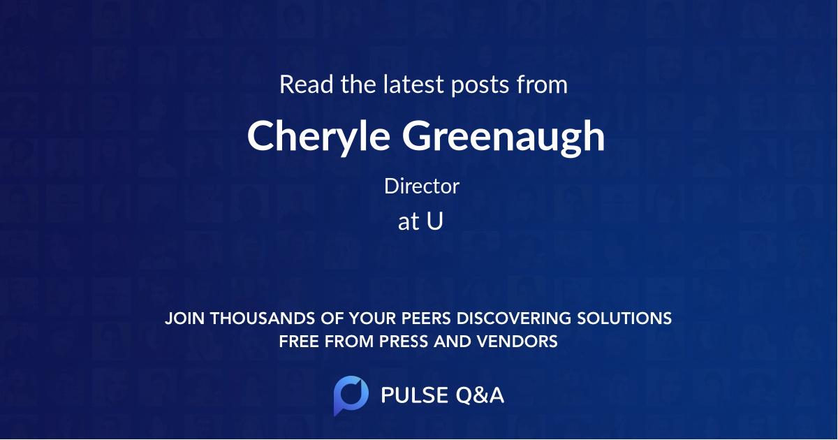 Cheryle Greenaugh