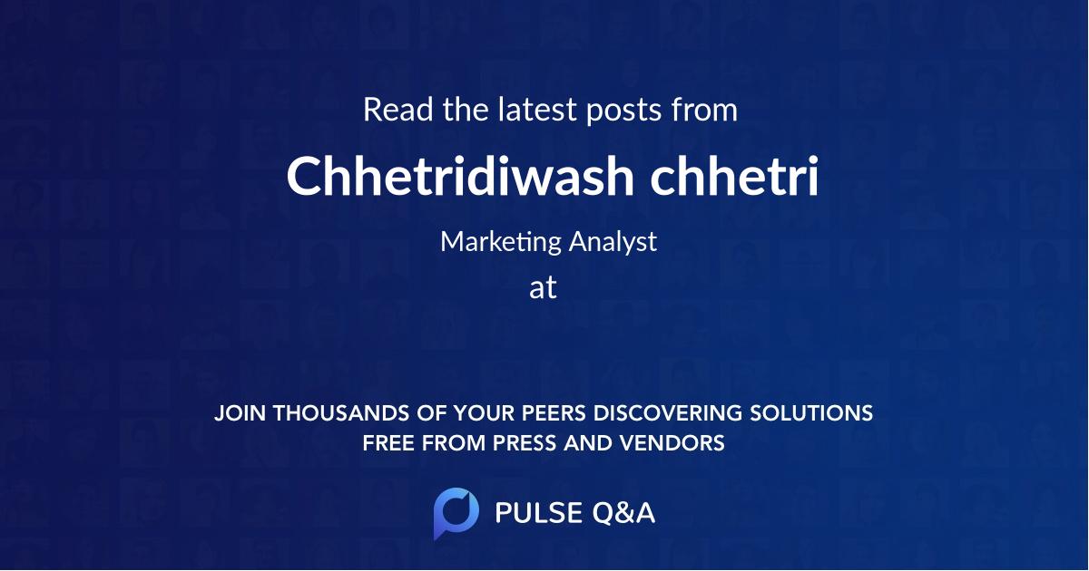 Chhetridiwash chhetri