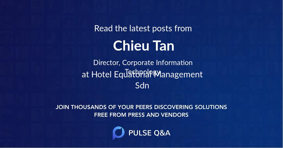 Chieu Tan