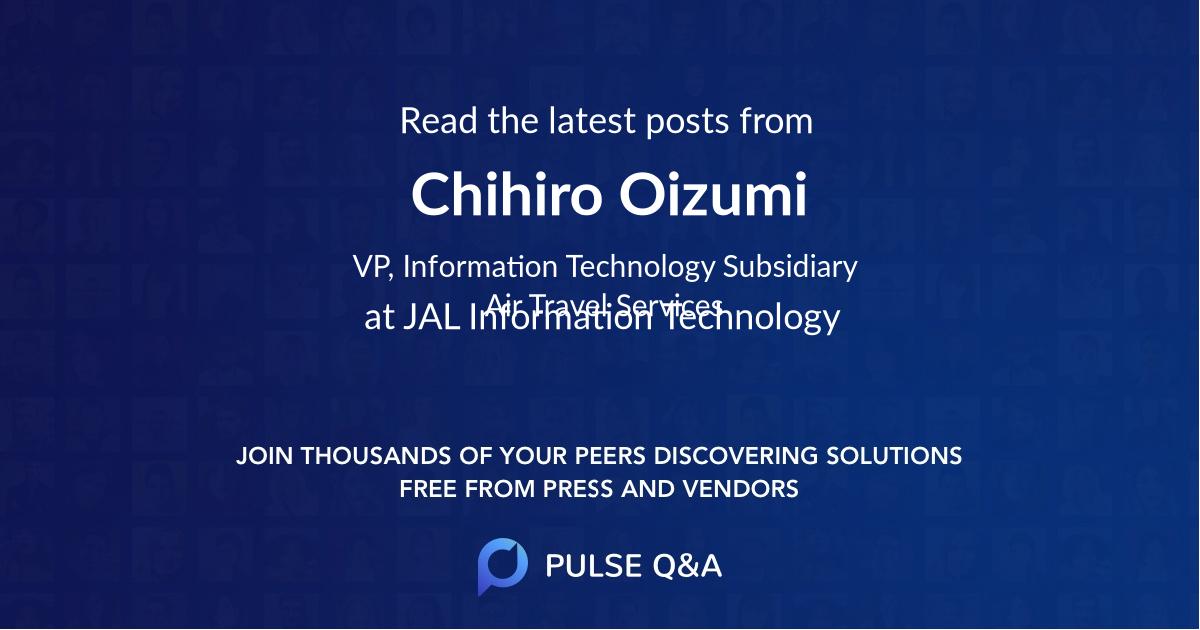 Chihiro Oizumi