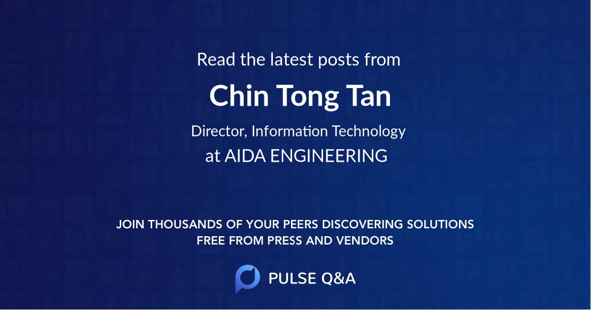 Chin Tong Tan
