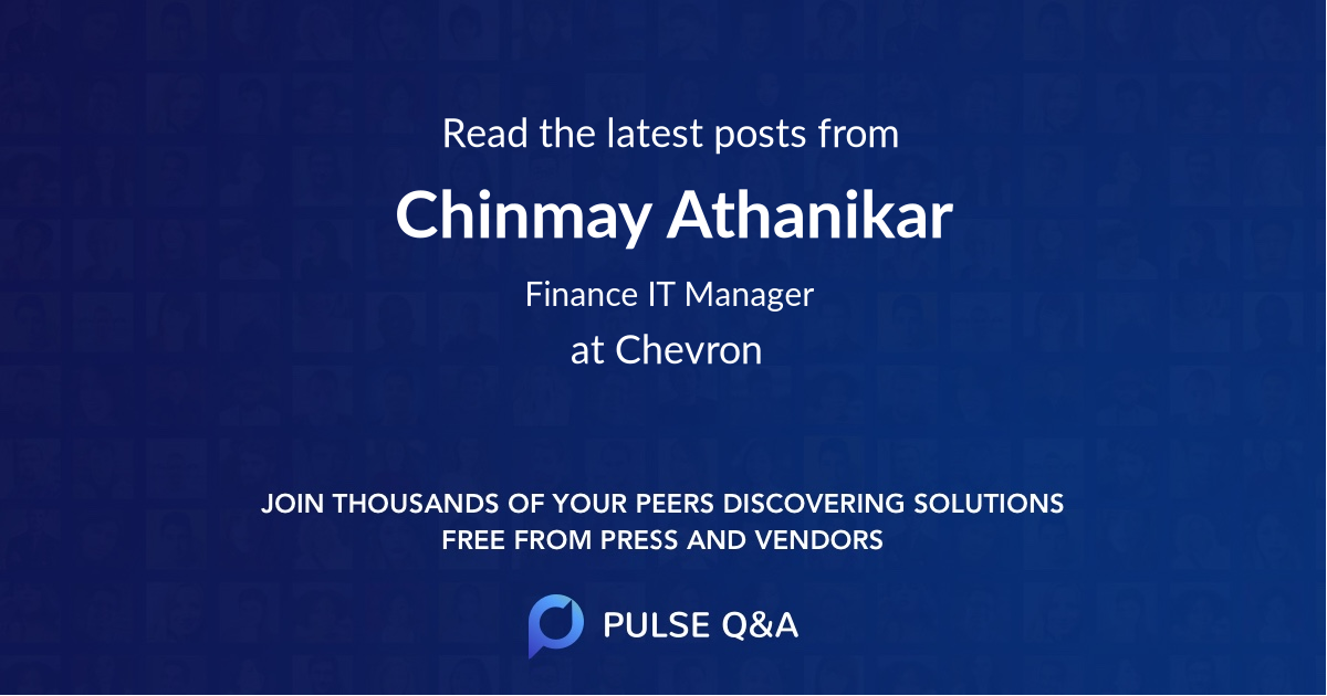 Chinmay Athanikar