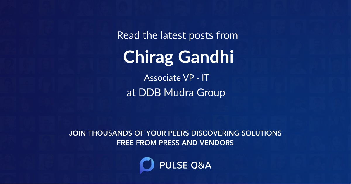 Chirag Gandhi