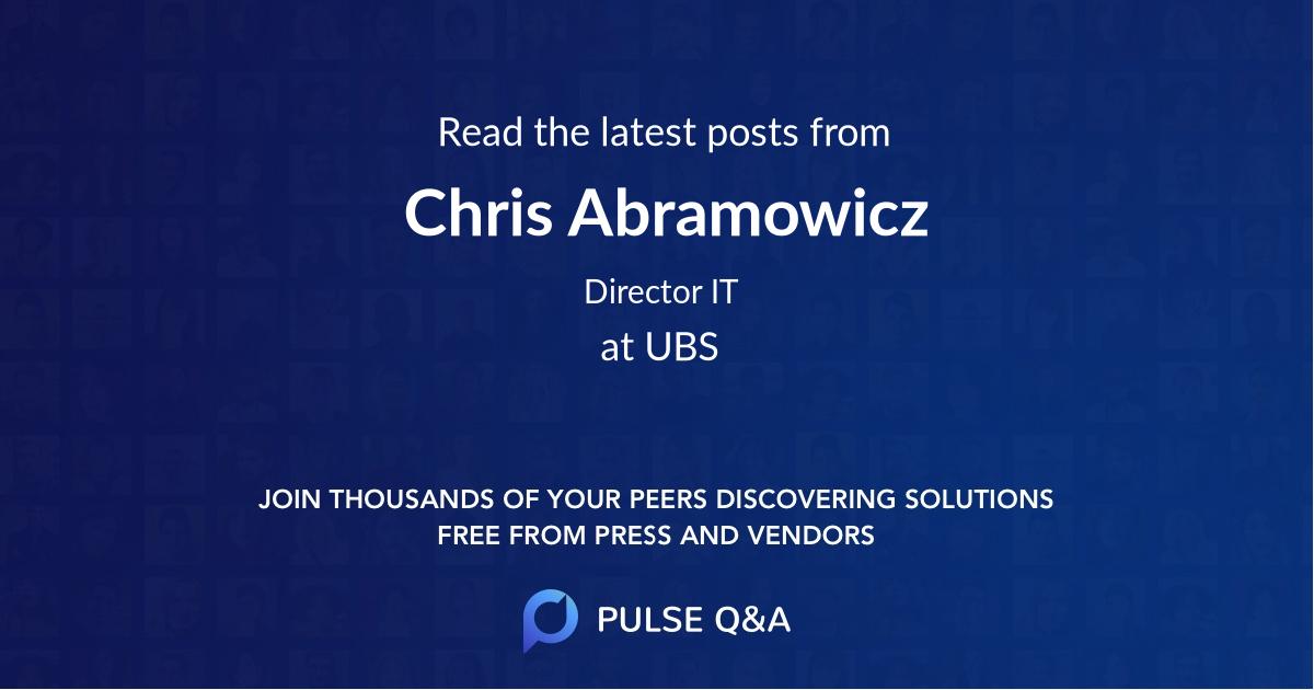 Chris Abramowicz