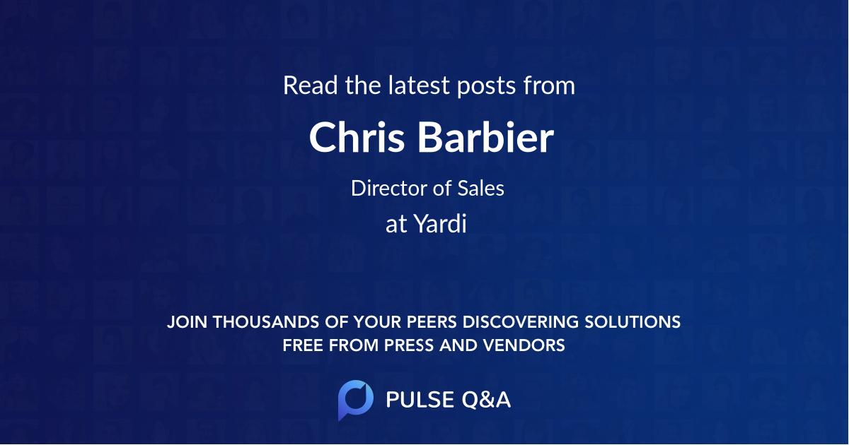 Chris Barbier