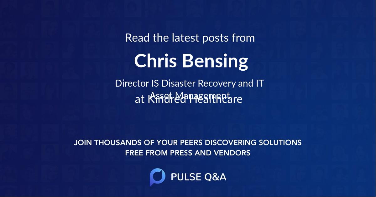 Chris Bensing