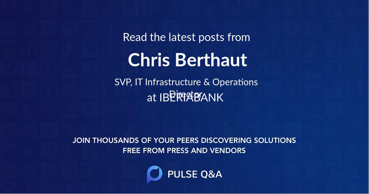Chris Berthaut