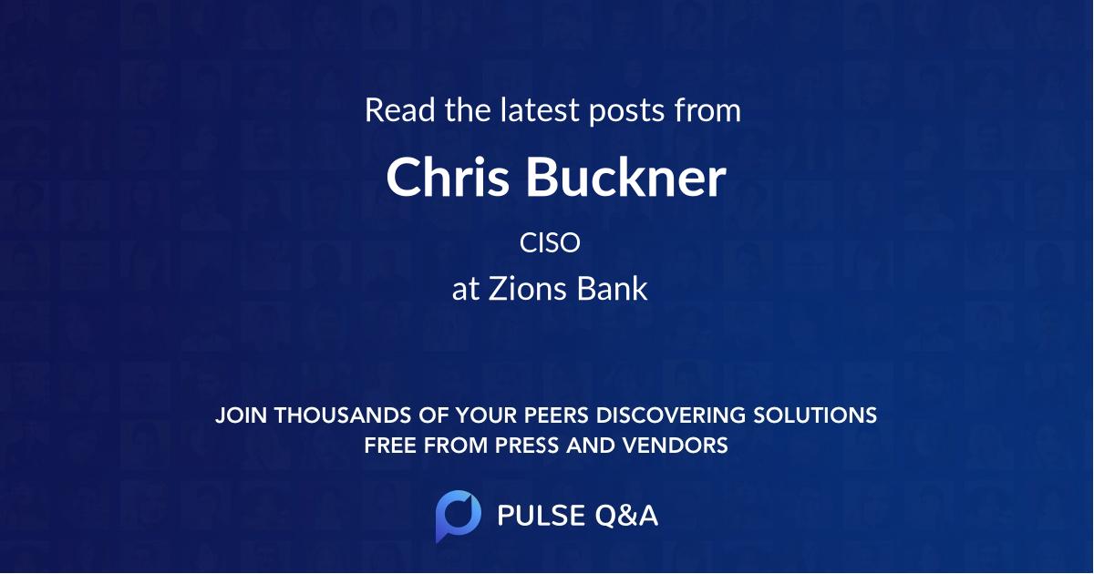 Chris Buckner
