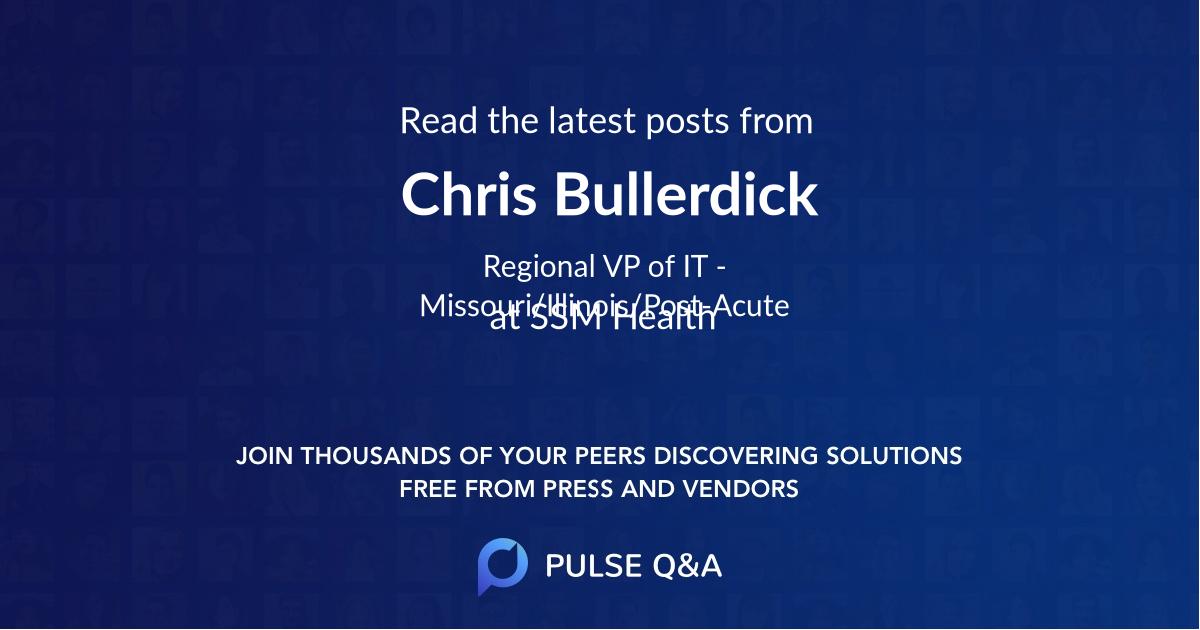 Chris Bullerdick
