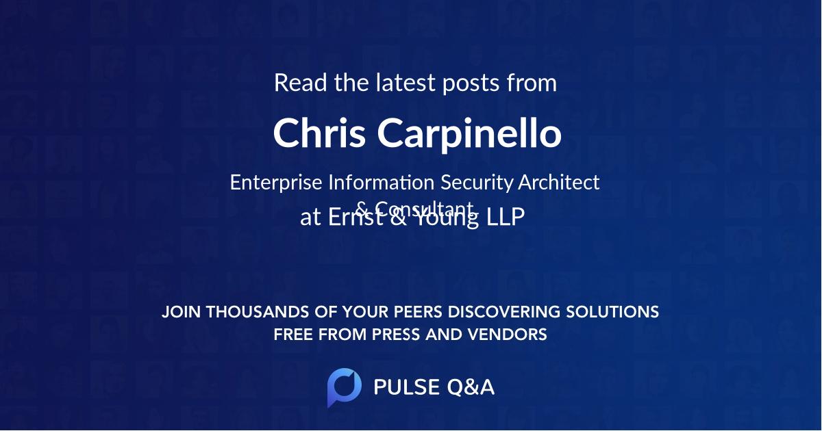 Chris Carpinello