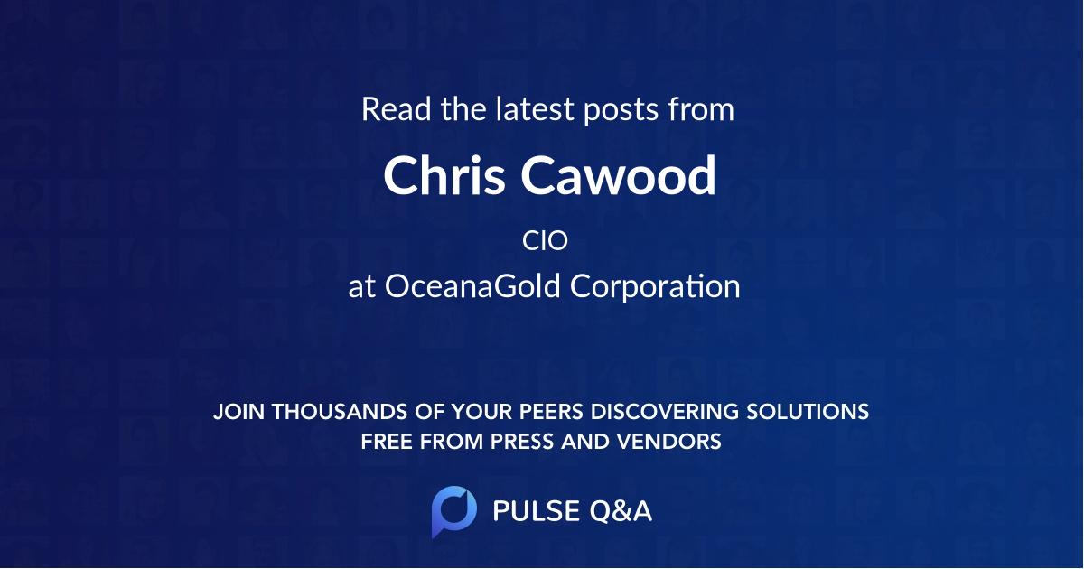 Chris Cawood