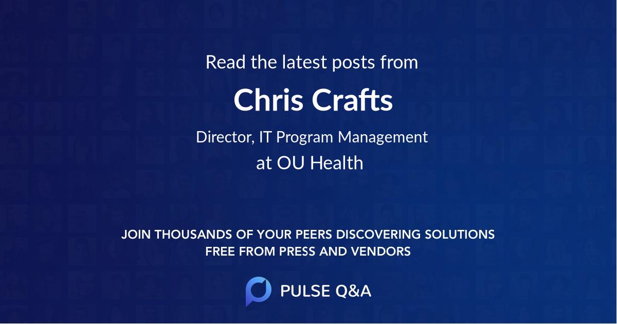 Chris Crafts