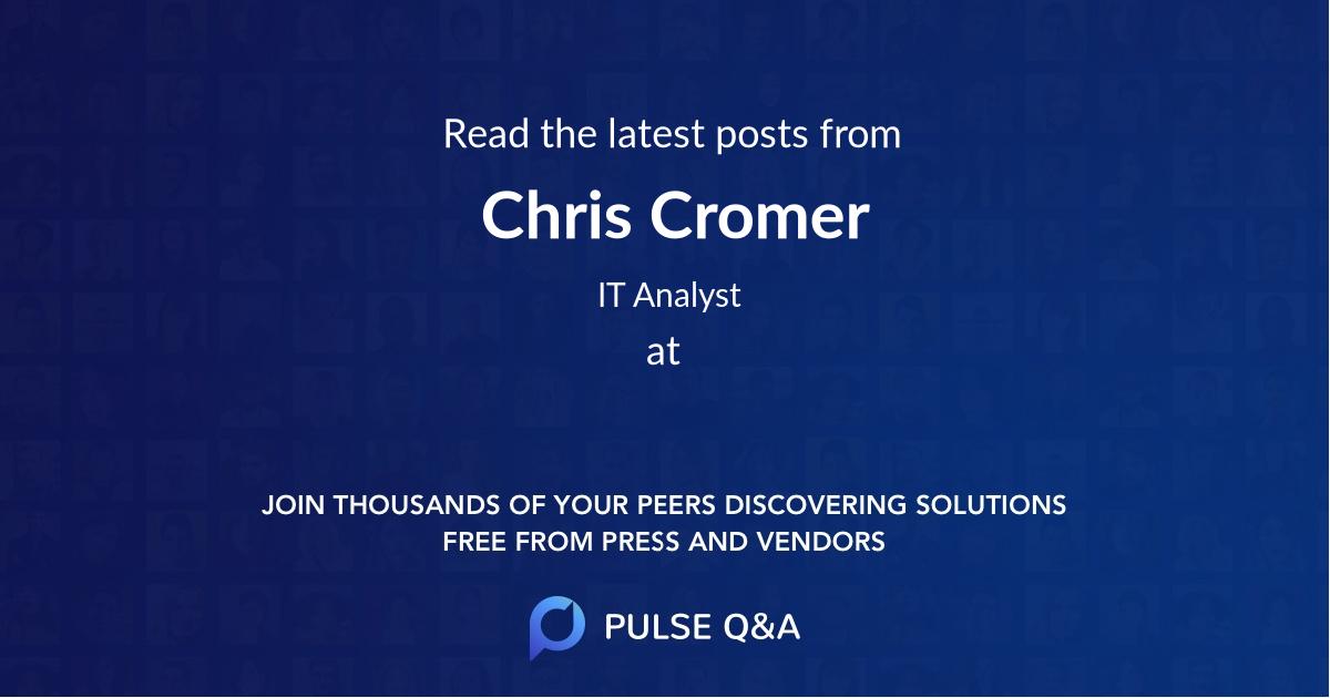 Chris Cromer