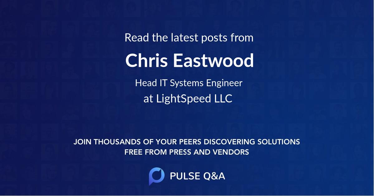 Chris Eastwood