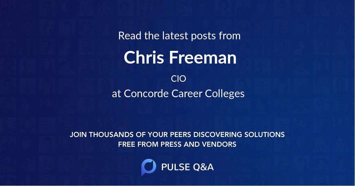Chris Freeman
