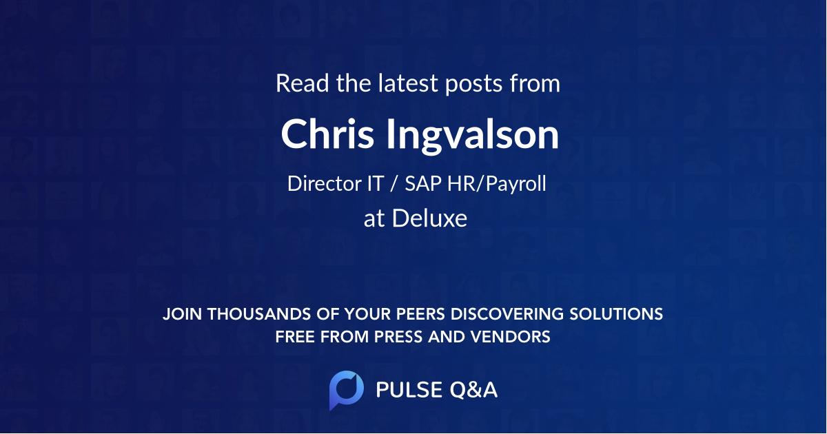 Chris Ingvalson