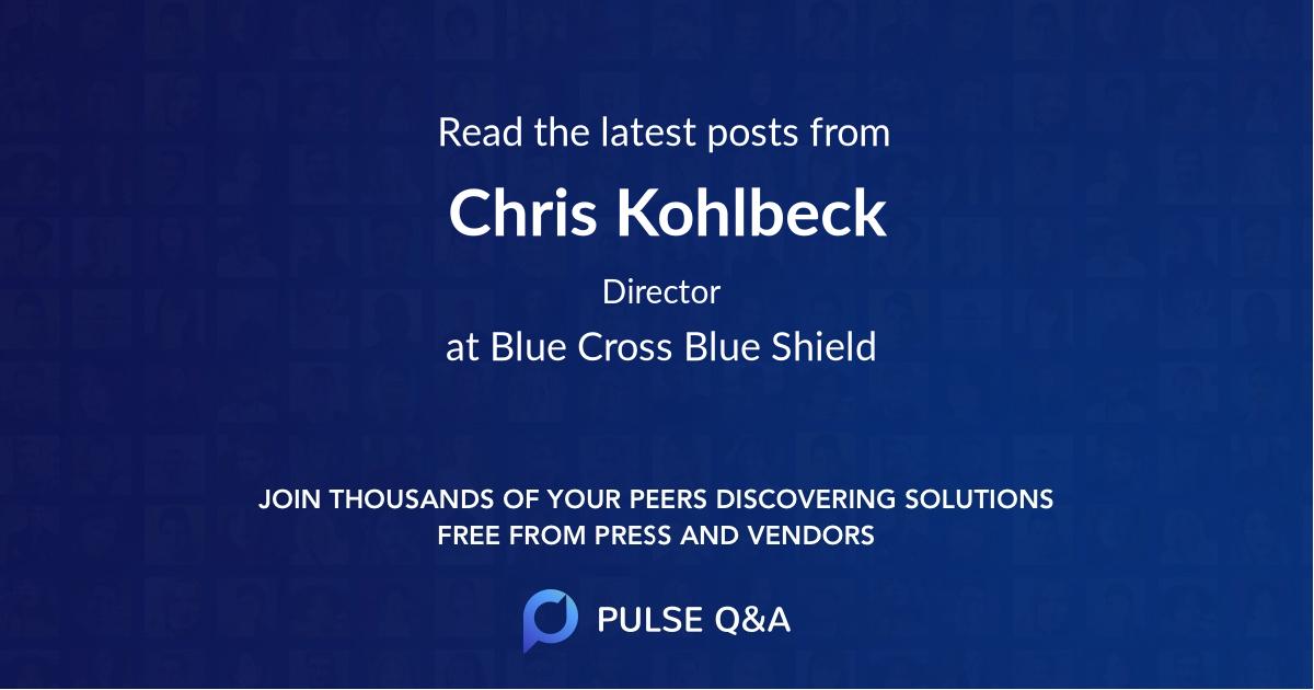Chris Kohlbeck
