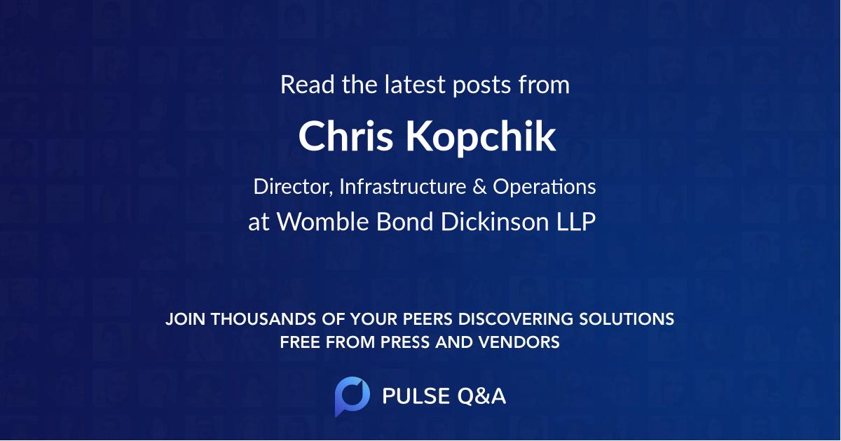 Chris Kopchik