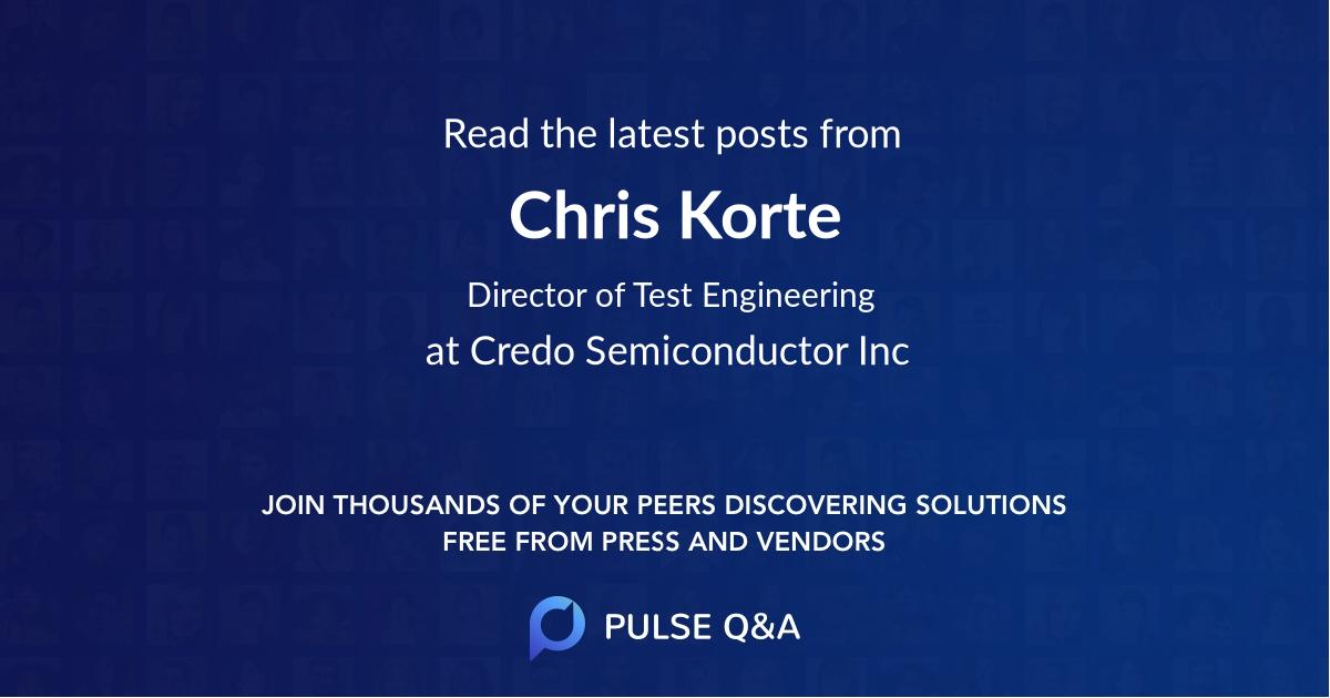 Chris Korte