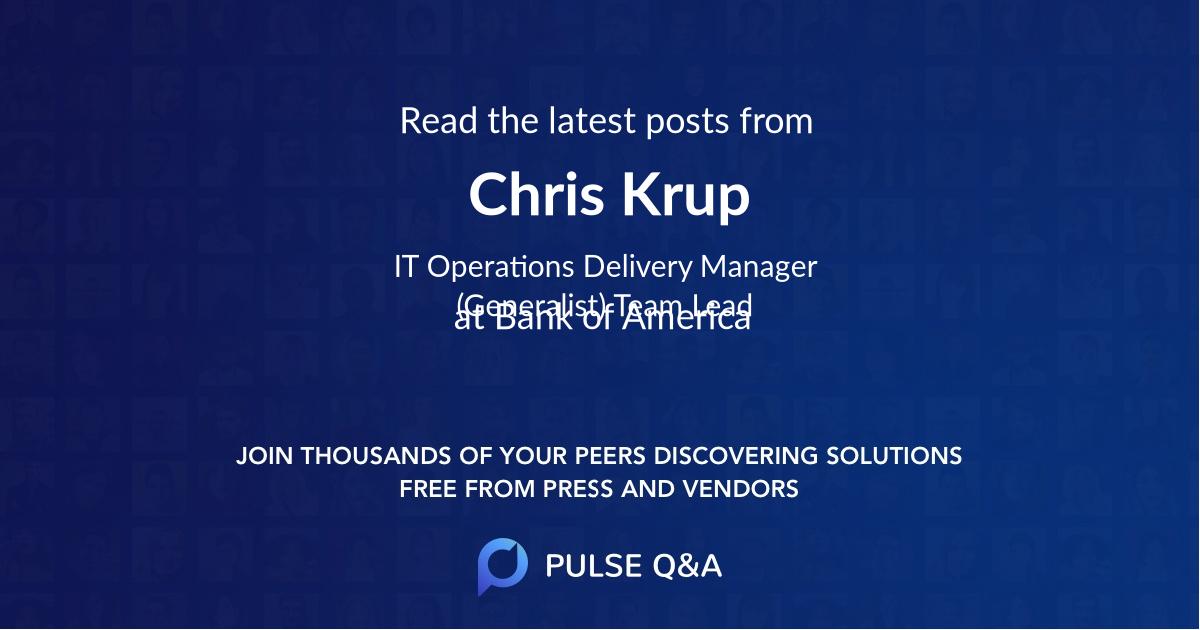 Chris Krup