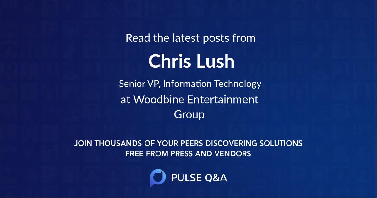 Chris Lush