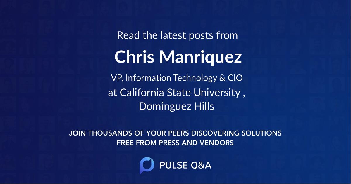 Chris Manriquez