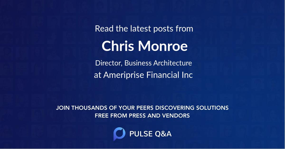 Chris Monroe