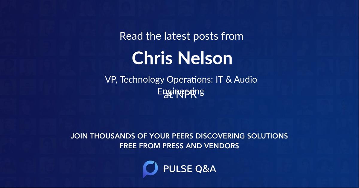 Chris Nelson