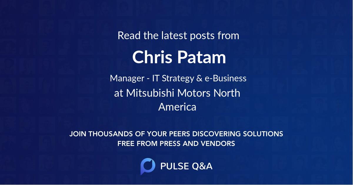 Chris Patam