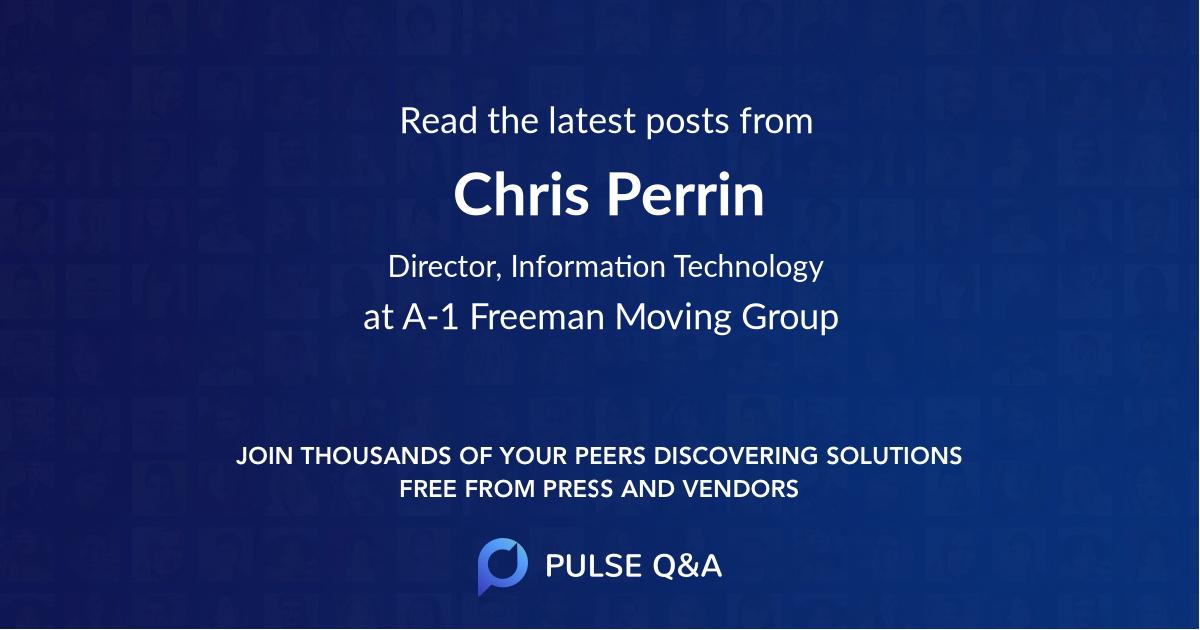 Chris Perrin