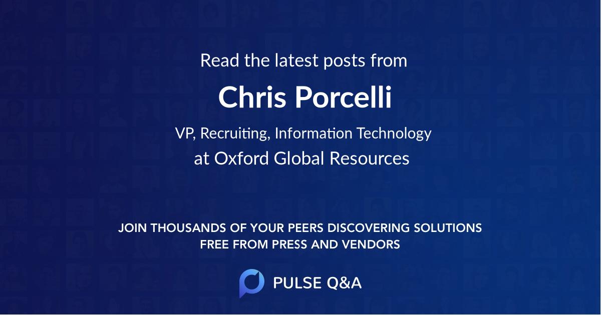 Chris Porcelli