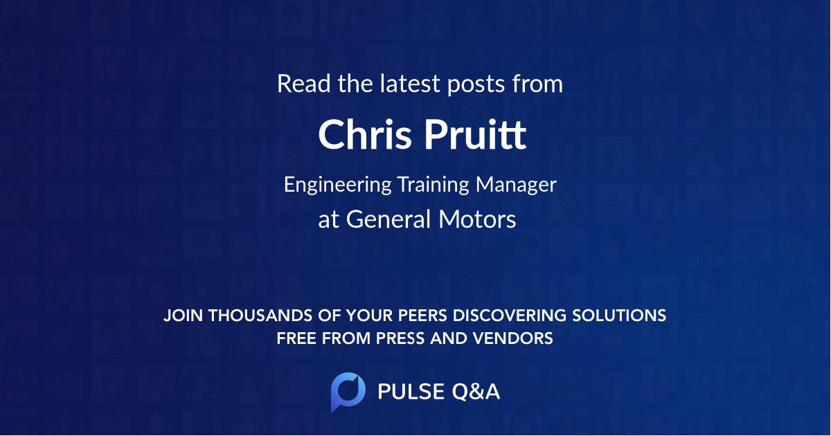 Chris Pruitt