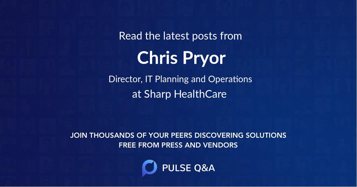 Chris Pryor