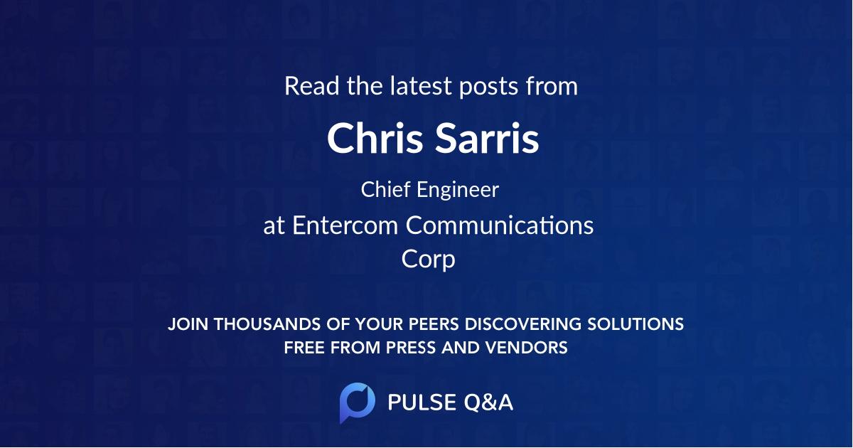 Chris Sarris
