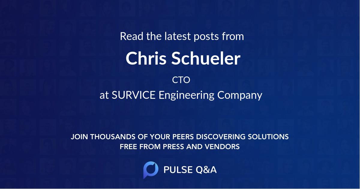 Chris Schueler