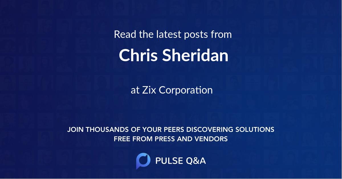 Chris Sheridan